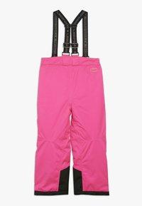LEGO Wear - PLATON 725 SKI PANTS - Snow pants - dark pink - 1