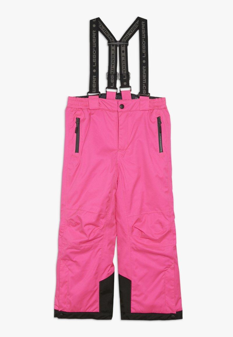 LEGO Wear - PLATON 725 SKI PANTS - Snow pants - dark pink