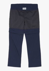 LEGO Wear - WEATHER PANTS - Pantalons outdoor - dark navy - 1