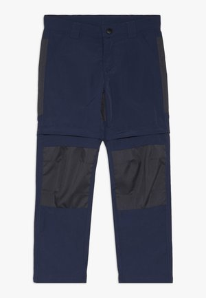 WEATHER PANTS - Długie spodnie trekkingowe - dark navy