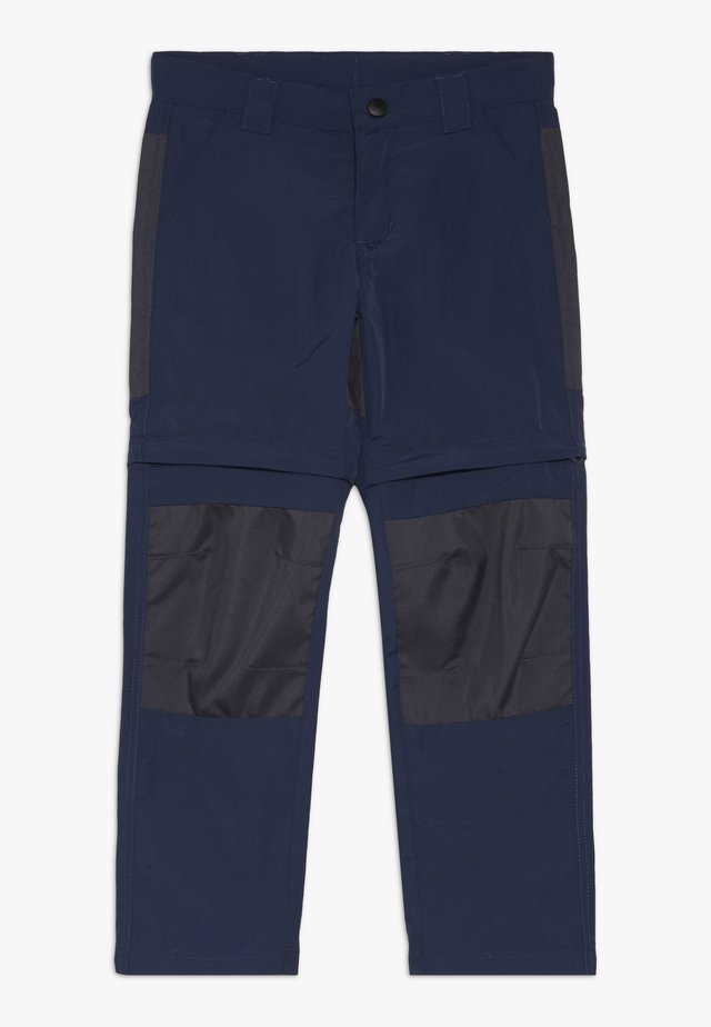 WEATHER PANTS - Friluftsbukser - dark navy