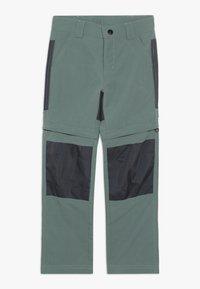 LEGO Wear - WEATHER PANTS - Outdoorové kalhoty - dark green - 0