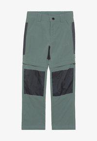 LEGO Wear - WEATHER PANTS - Outdoorové kalhoty - dark green - 4
