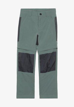 WEATHER PANTS - Friluftsbyxor - dark green
