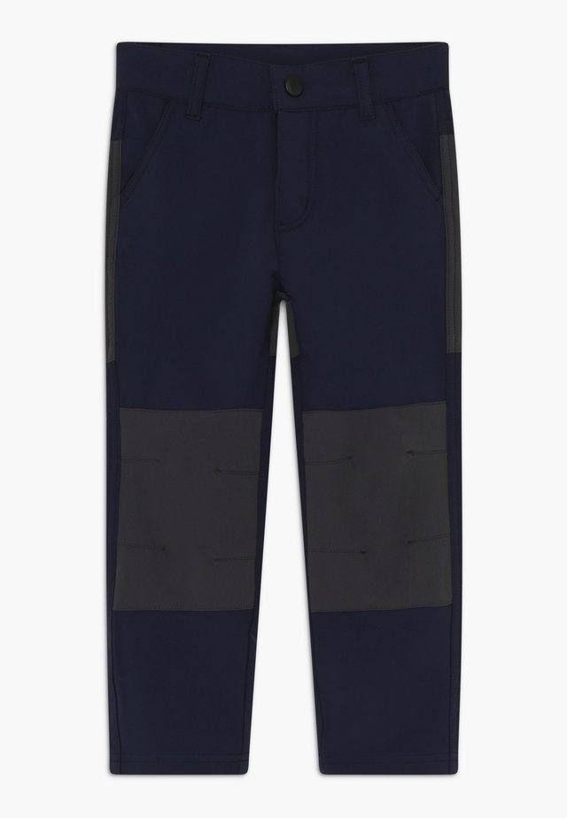 WEATHER PANTS - Stoffhose - dark navy