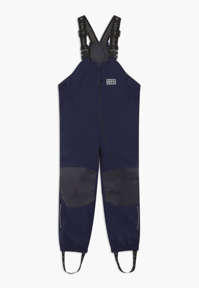 ALL WEATHER PANTS - Pantaloni impermeabili - dark navy