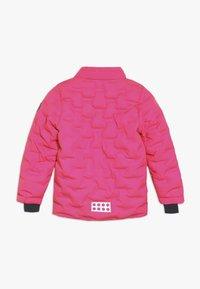 LEGO Wear - JORDAN JACKET - Ski jacket - dark pink - 2