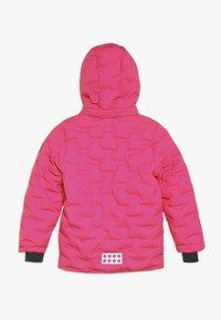 LEGO Wear - JORDAN JACKET - Ski jacket - dark pink - 1