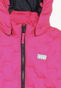 LEGO Wear - JORDAN JACKET - Ski jacket - dark pink - 7