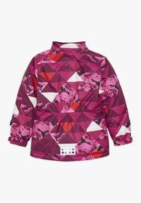 LEGO Wear - JOSEFINE 721 JACKET - Ski jas - dark pink - 2