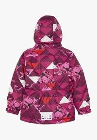 LEGO Wear - JOSEFINE 721 JACKET - Ski jas - dark pink - 1