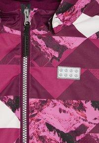 LEGO Wear - JOSEFINE 721 JACKET - Ski jas - dark pink - 5