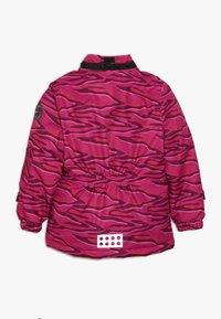LEGO Wear - JOSEFINE JACKET - Ski jacket - dark pink - 3