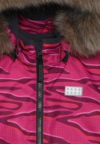 LEGO Wear - JOSEFINE JACKET - Ski jacket - dark pink - 6
