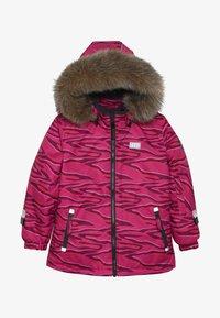 LEGO Wear - JOSEFINE JACKET - Ski jacket - dark pink - 5