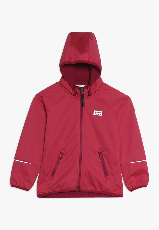 LWSAM 200 - Softshelljacke - coral red