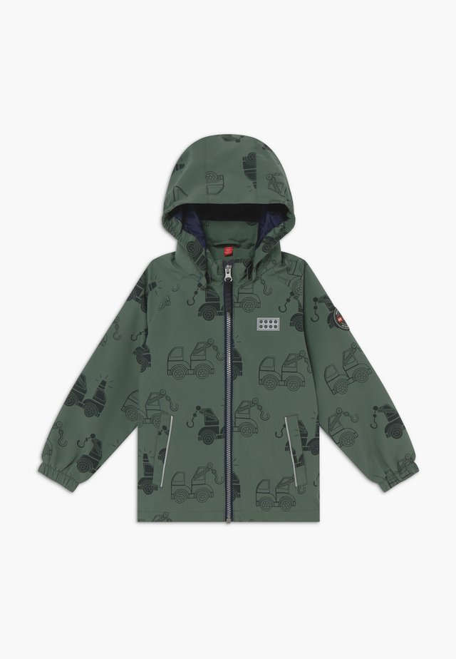 JULIO JACKET - Hardshelljacke - dark green