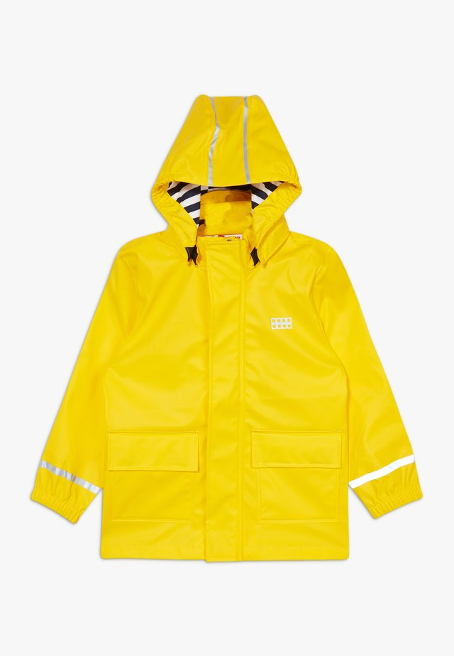 LWJULIO RAIN - Veste imperméable - dark yellow