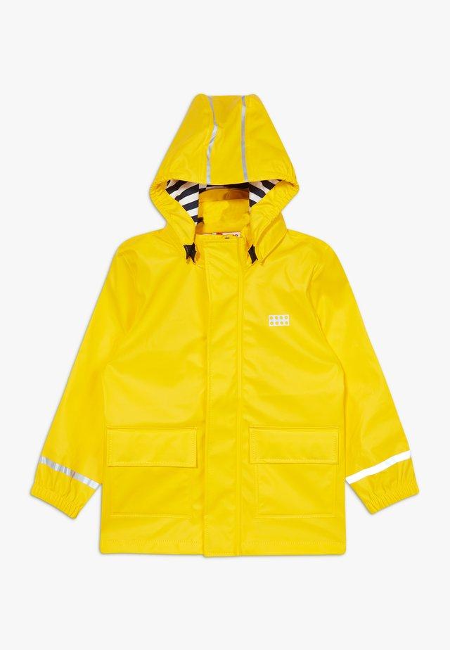 LWJULIO RAIN - Impermeabile - dark yellow