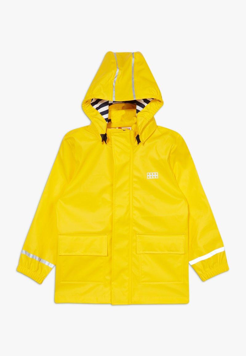 LEGO Wear - LWJULIO RAIN - Waterproof jacket - dark yellow
