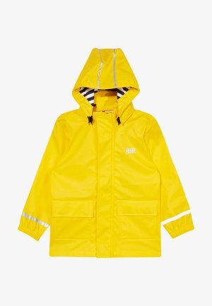 LWJULIO RAIN - Veste imperméable - dark yellow