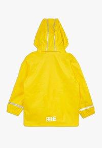 LEGO Wear - LWJULIO RAIN - Waterproof jacket - dark yellow - 1