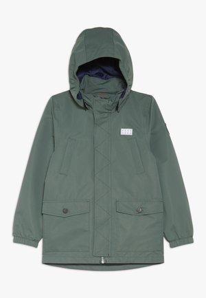JOSHUA JACKET - Hardshell jacket - dark green