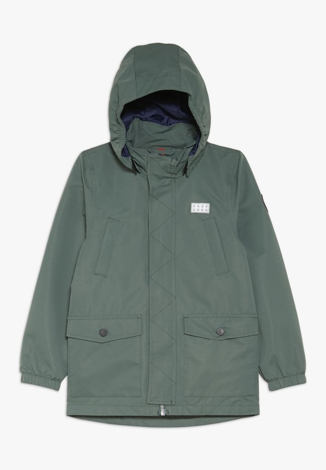 JOSHUA JACKET - Giacca hard shell - dark green