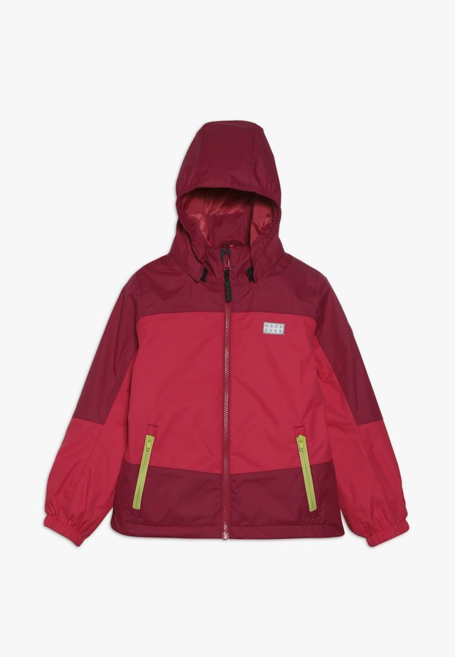 JODIE JACKET - Giacca hard shell - bordeaux