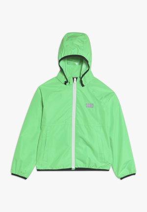 JOSHUA JACKET PACKABLE - Hardshell jacket - green