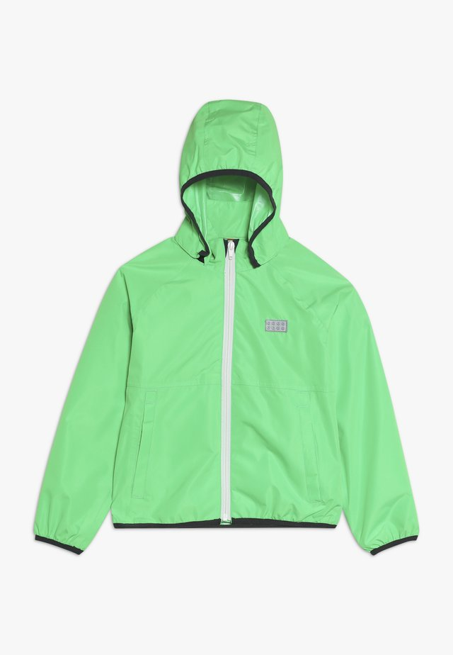 JOSHUA JACKET PACKABLE - Hardshell jacket - green