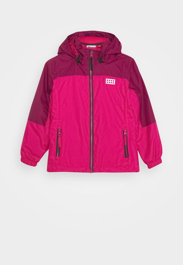 JODIE 600 JACKET 2-IN-1 - Giacca outdoor - dark pink