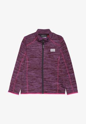 SIAM 704 CARDIGAN - Fleecejacke - light purple