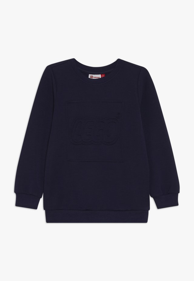Topper langermet - dark navy