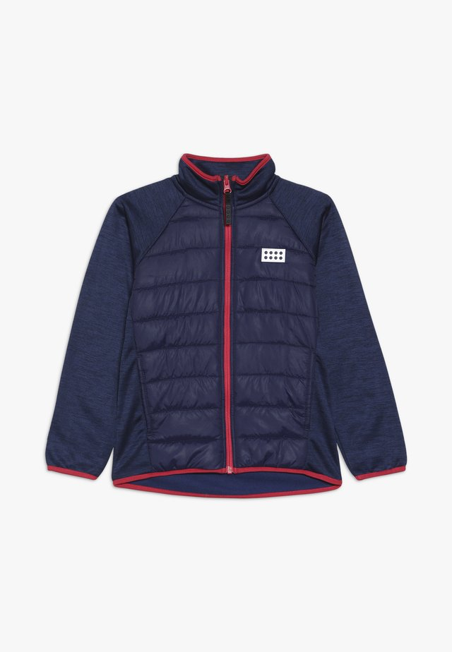 LWSAM 212 JACKET - Fleecejacke - dark blue
