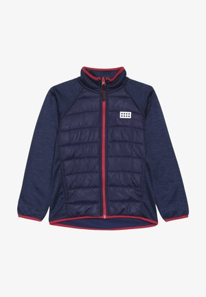 LWSAM 212 JACKET - Fleecejakker - dark blue
