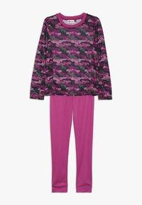 LEGO Wear - UBERTO SKI UNDERWEAR SET - Unterhemd/-shirt - light purple - 0