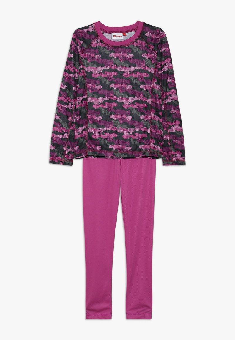 LEGO Wear - UBERTO SKI UNDERWEAR SET - Unterhemd/-shirt - light purple