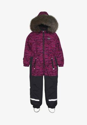 JOSEFINE SNOWSUIT - Skipak - dark pink
