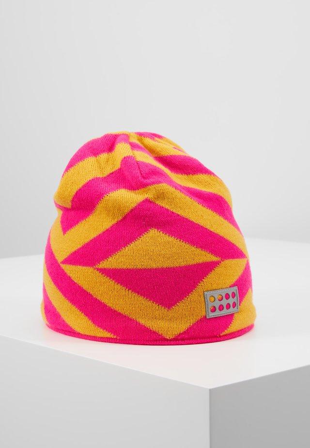 WALFRED HAT - Beanie - dark pink