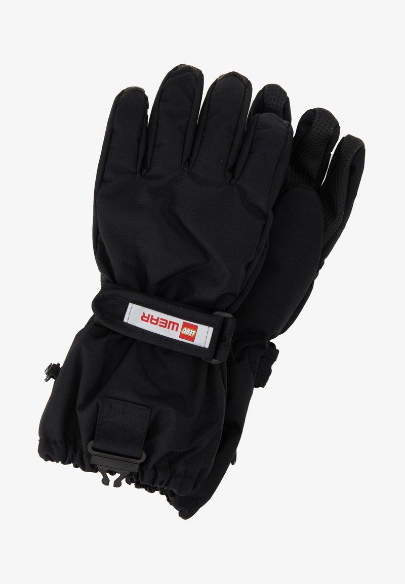 LEGO Wear - WALFRED GLOVES - Fingerhandschuh - black