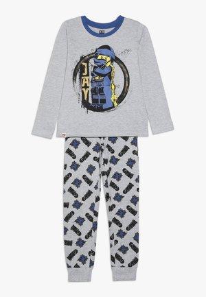 Pyžamová sada - grey melange