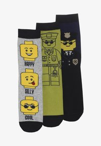 LEGO Wear - 3 PACK - Socks - grey melange - 2