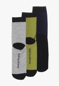 LEGO Wear - 3 PACK - Socks - grey melange - 1