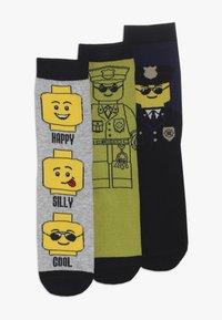 LEGO Wear - 3 PACK - Socks - grey melange - 0