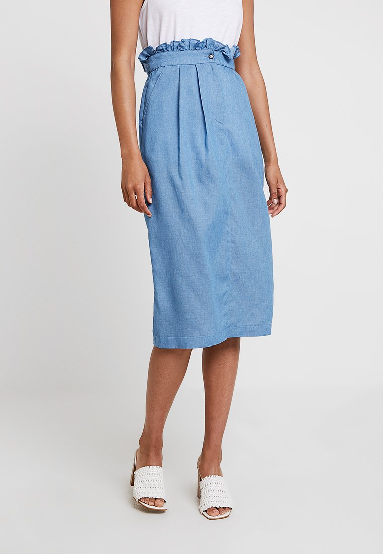Louche - PRESCILLA - Blyantnederdel / pencil skirts - blue