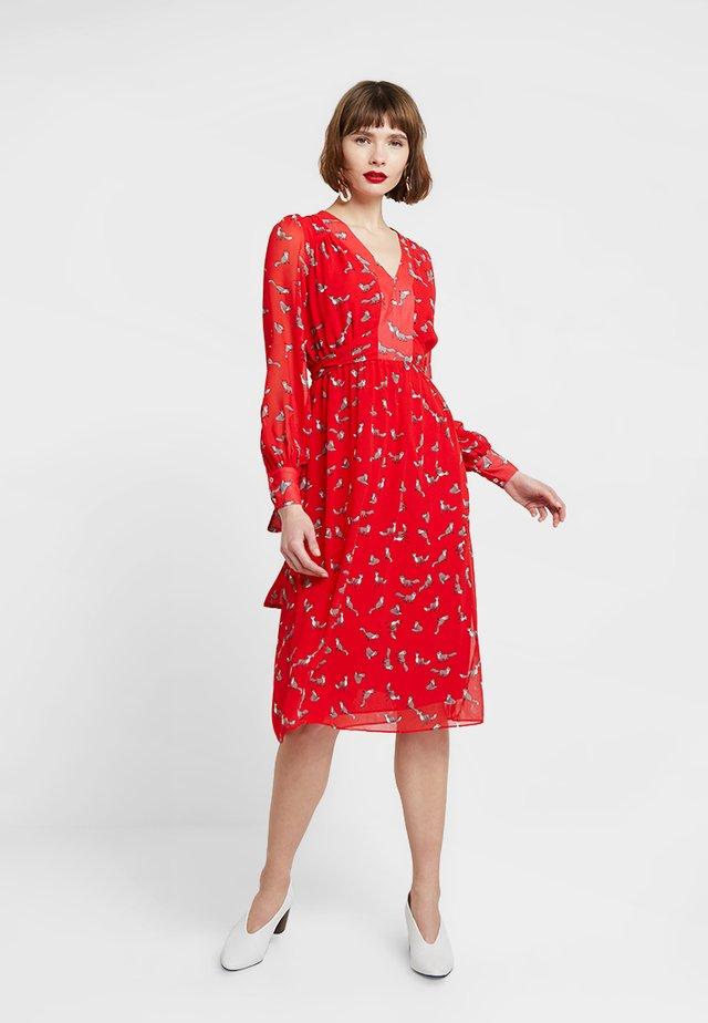 DORINA - Denní šaty - red