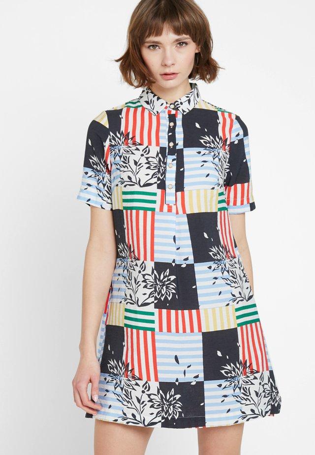 MEIRA PATCHWORK - Shirt dress - multi