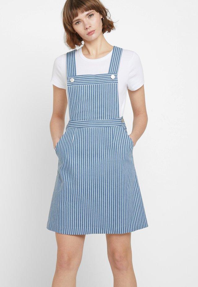 WALLIS-STRIPE - Denim dress - blue chambray