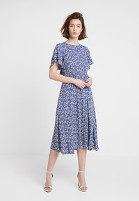 Louche - TEMOE DITSY - Day dress - blue - 0